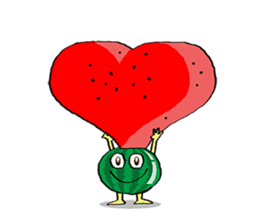 Uncle Watermelon(English) sticker #7358405