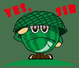 Uncle Watermelon(English) sticker #7358411