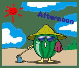 Uncle Watermelon(English) sticker #7358415