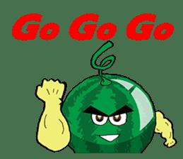 Uncle Watermelon(English) sticker #7358417