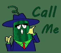 Uncle Watermelon(English) sticker #7358418