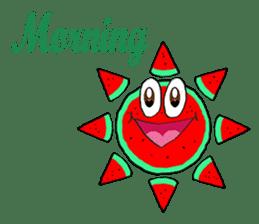 Uncle Watermelon(English) sticker #7358420