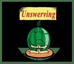 Uncle Watermelon(English) sticker #7358421