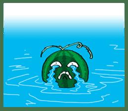 Uncle Watermelon(English) sticker #7358427