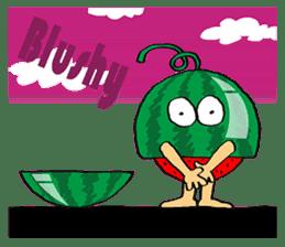 Uncle Watermelon(English) sticker #7358429