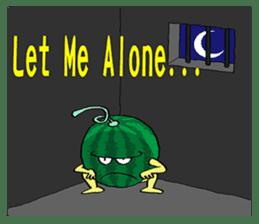 Uncle Watermelon(English) sticker #7358436