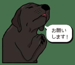 Doc the Labrador Retriever sticker #7364449