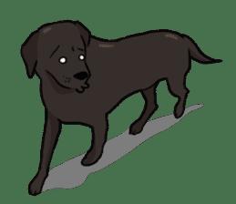 Doc the Labrador Retriever sticker #7364460