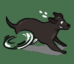 Doc the Labrador Retriever sticker #7364462