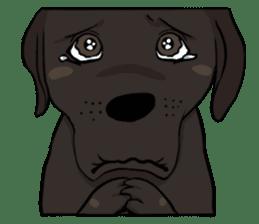 Doc the Labrador Retriever sticker #7364466