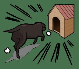 Doc the Labrador Retriever sticker #7364474
