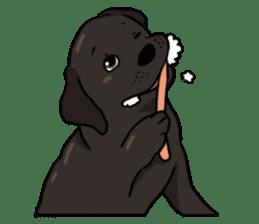 Doc the Labrador Retriever sticker #7364476