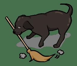 Doc the Labrador Retriever sticker #7364478