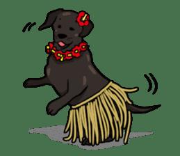 Doc the Labrador Retriever sticker #7364479