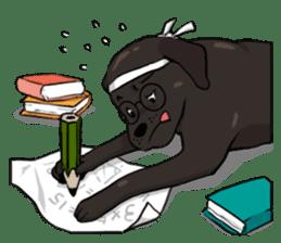 Doc the Labrador Retriever sticker #7364482