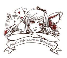 Alice's Adventures in Wonderland sticker #7365684