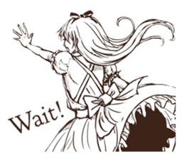 Alice's Adventures in Wonderland sticker #7365716