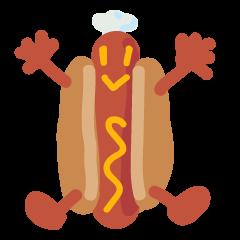 Strange hot dog