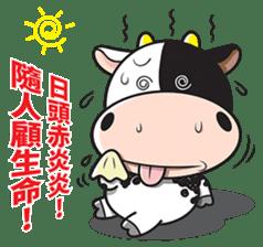 Milk Cow 01 sticker #7369024