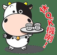 Milk Cow 01 sticker #7369027