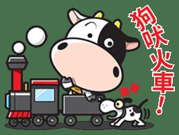 Milk Cow 01 sticker #7369035