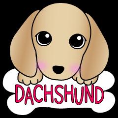The Dachshund stickers