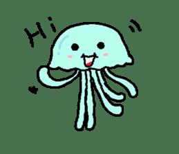 jellyfish now sticker #7383572