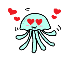 jellyfish now sticker #7383575