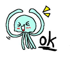 jellyfish now sticker #7383578