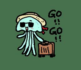jellyfish now sticker #7383600