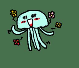 jellyfish now sticker #7383606