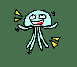 jellyfish now sticker #7383608