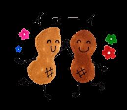 lots of peanuts sticker #7384896