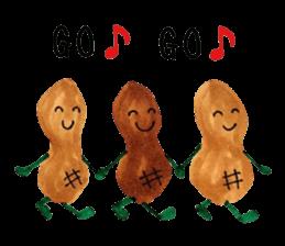 lots of peanuts sticker #7384905