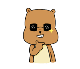 The squirrel daily life sticker #7386228