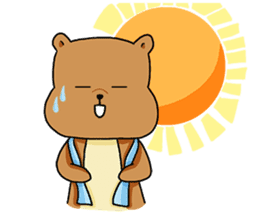 The squirrel daily life sticker #7386235