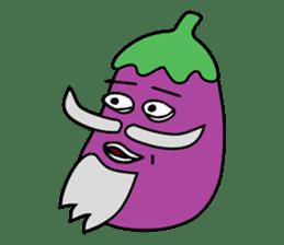 Delicious Eggplant sticker #7386263