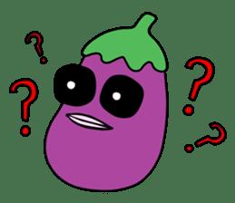 Delicious Eggplant sticker #7386290