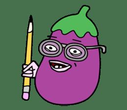 Delicious Eggplant sticker #7386291