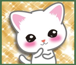 I want to hug a cat cute International sticker #7391015