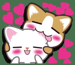I want to hug a cat cute International sticker #7391016