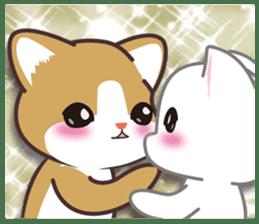 I want to hug a cat cute International sticker #7391019