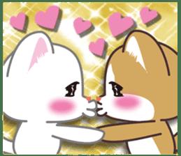 I want to hug a cat cute International sticker #7391025