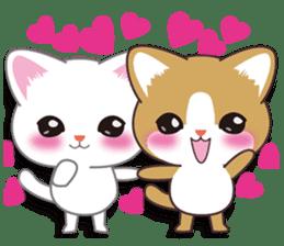 I want to hug a cat cute International sticker #7391028