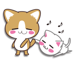 I want to hug a cat cute International sticker #7391037