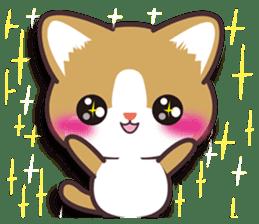 I want to hug a cat cute International sticker #7391046