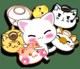I want to hug a cat cute International sticker #7391048