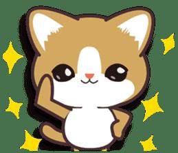 I want to hug a cat cute International sticker #7391049