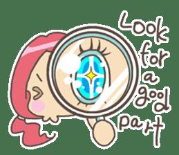 Positive URIURI English edition sticker #7402470