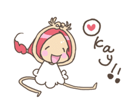 Positive URIURI English edition sticker #7402481